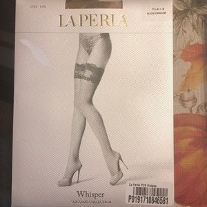 High end, unopened La Perla hosiery for a steal.